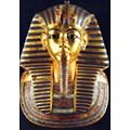 Прочутата златна маска  на фараона Тутанкамон