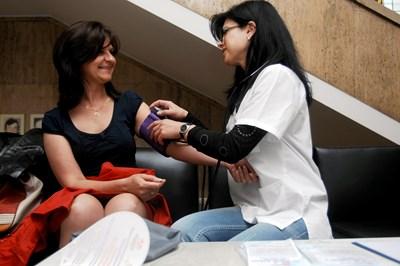 Профилактичното измерване на кръвното е част от добрата грижа за здравето.