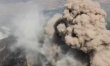 Вижте изригване на вулкан Попокатепетел