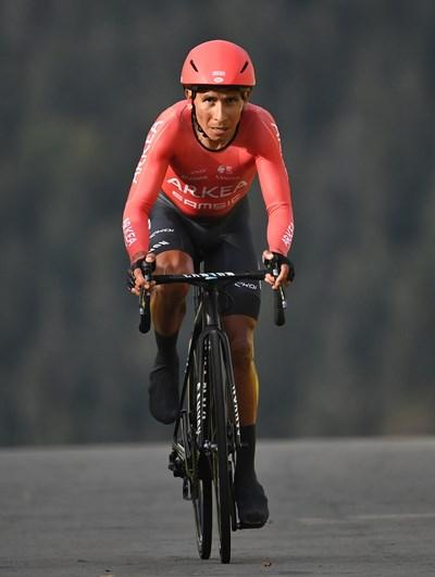 """Найро Кинтана е основната цел на полицейската акция след финала на """"Тур дьо Франс"""". Снимка: Ройтерс"""