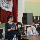 Караянчева по време на срещата с членове и симпатизанти на ГЕРБ в Берковица. Снимки ГЕРБ