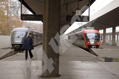 Последните нови влакове, които купи БДЖ, бяха доставени през 2005 г. СНИМКА: 24 часа