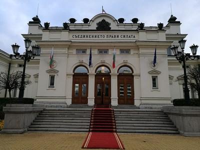 С червен килим посрещат депутатите. СНИМКИ: Велислав Николов