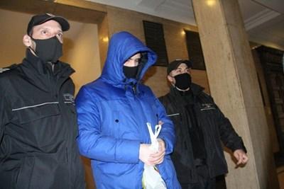 Кристиан Николов в съда  СНИМКИ: ВЕЛИСЛАВ НИКОЛОВ