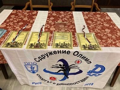 Състезание по шахмат за хора с увреждания Снимки: Община Русе