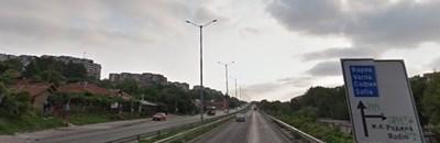 """Бул. """"България"""" в Русе СНИМКА: Google Street View"""