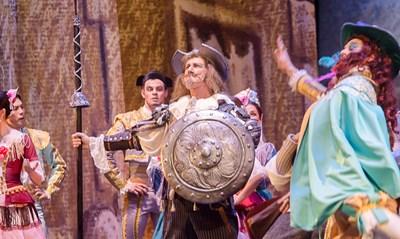 """Сцена от балета """"Дон Кихот"""""""