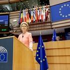 """В първата си реч """"За състоянието на съюза"""" Урсула фон дер Лайен обяви, че европейските ценности не са за продан. СНИМКИ: РОЙТЕРС"""