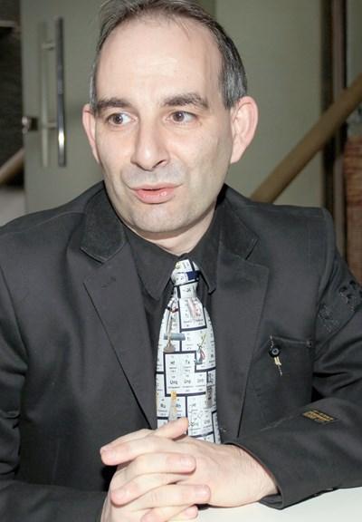 Петър Волгин е един от кандидатите за шеф на БНР. СНИМКА: Пиер Петров