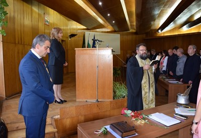 Новоизбраният кмет на Елена инж.Дилян Млъзев положи клетва за четвъртия си мандат