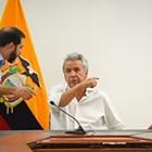 Президентът на Еквадор Ленин Морено СНИМКА: Ройтерс