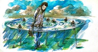 Суверенът и партиите - вижте как ги нарисува Анри Кулев