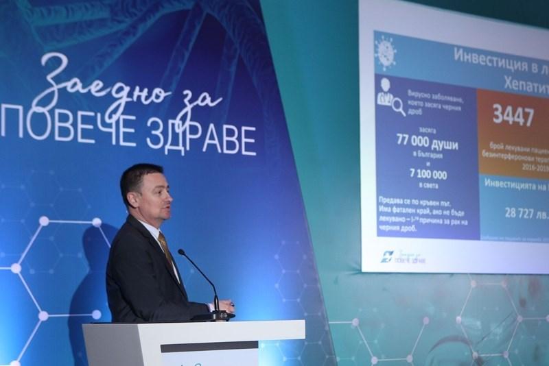 """На форума """"Заедно за повече здраве"""" Деян Денев представя примери за успешни иновации, които удължават живота."""