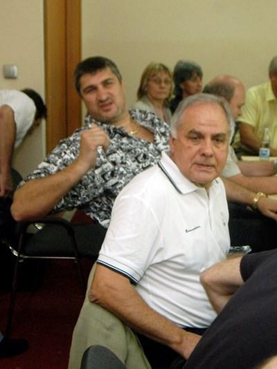 Лазаров (на преден план) е начело на БФВ от 2001 г.