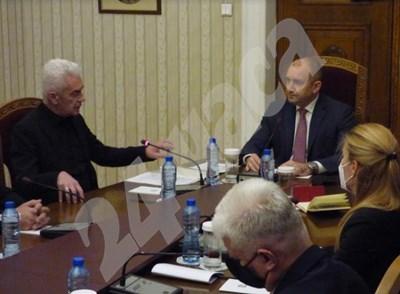 "Party ""Attack"" consultation with President Rumen Radev PHOTOS: Rumyana Toneva PHOTO: 24 hours"