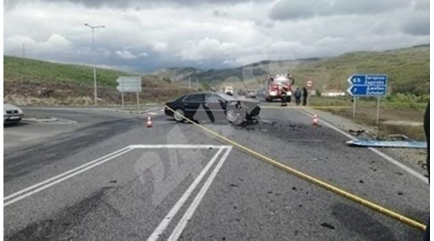 Кръстовището от катастрофата с Местан прилича на погубилото 4-ма футболисти