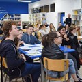 Учениците в Немската гимназия представят поредната си тематична проектна седмица.