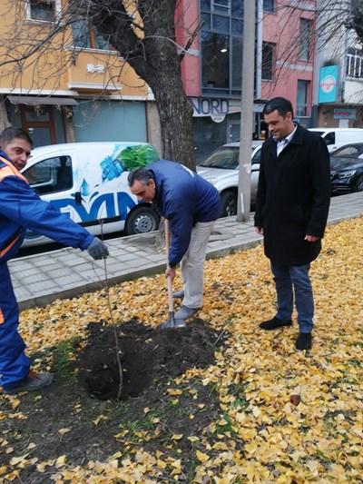 Георги Стаменов подкрепи акцията на семейство Игнатови.