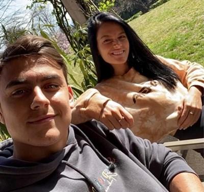 Дибала и приятелката му пак с положителен тест за коронавирус, предният бе отрицателен