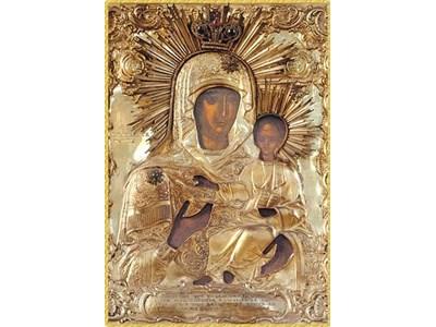 Чудотворна икона на св. Богородица от Зографския манастир пристигна у нас