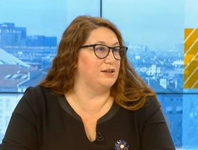 Ваня Георгиева, експерт в МОН КАДЪР: БНТ