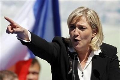 Френската крайнодясна лидерка Марин Льо Пен СНИМКА: Ройтерс