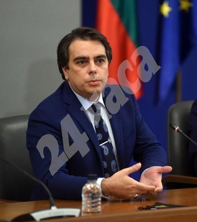 Асен Василев. СНИМКА: 24 часа