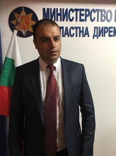 Директорът на ОД на МВР в Пловдив ст.комисар Йордан Рогачев
