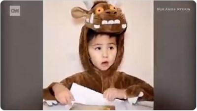 3-годишно дете стана член на Менса (Видео)