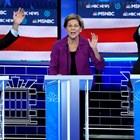 Сенатор Елизабет Уорън,  Майкъл Блумбърг и Бърни Сандърс Снимка: Ройтерс