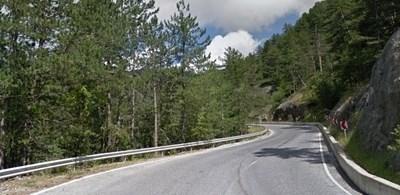 Движението по пътя между Соколовци и Пампорово щее ограничено от 19 до 22 юли СНИМКА: Гугъл стрийт вю