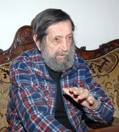 Георги Бояджиев - Бояджиана, - синът на големия художник Златю Бояджиев,  почина на  29 август след инфакт. СНИМКА: