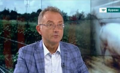 Вихрен Димитров – изпълнителен директор на свинекомплекс в Голямо Враново Кадър: БНТ