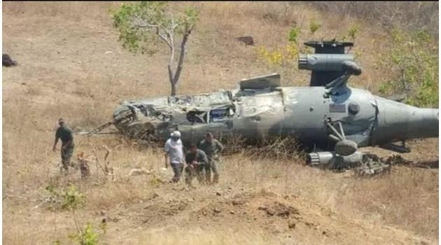 """Руски хеликоптер Ми-35 се разби във Венецуела - тренирал противодействие на """"американска интервенция"""""""
