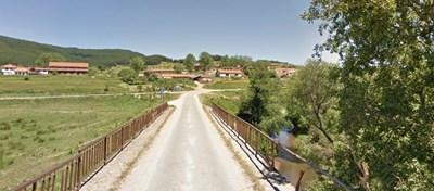 Инцидентът е станал на 1 км от село Барутин   СНИМКА: Гугъл стрийт вю