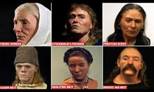 Скулптор използва черепи, за да реконструира лица на отдавна починали хора
