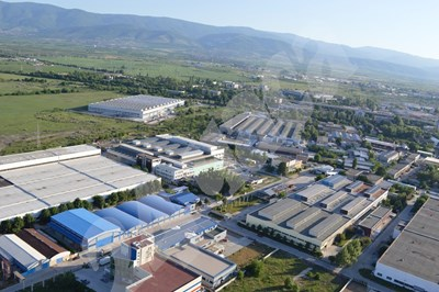 Индустриална зона - Пловдив, е една от най-големите в страната, дава подслон на десетки фирми, много от които - на чужди инвеститори. СНИМКА: 24 часа