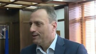 Георги Икономов, кмет на община Банско: Кадър: БНТ