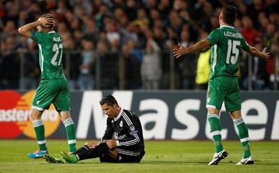 При швейцарската система звезди като Кристиано Роналдо все по-рядко ще играят срещу български отбори. СНИМКА: РОЙТЕРС