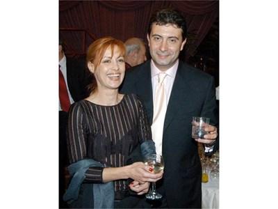 Коко и съпругата му Радина. СНИМКА: РУМЯНА ТОНЕВА