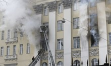 """При пожара в руската """"отбрана"""" изгоря архив за имотни измами за $100 млн."""