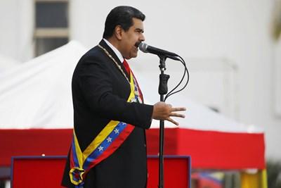 Президентът на Венецуела Николас Мадурo  СНИМКА: Ройтерс