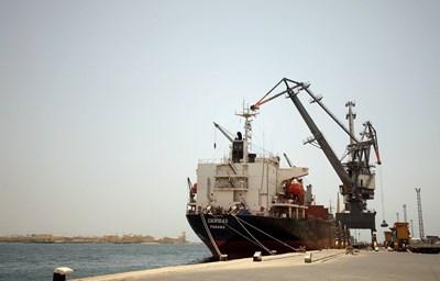 Пристанището в Масауа, Еритрея  СНИМКА: Ройтерс