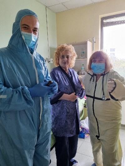 "Латинка Петрова радва медиците в ""Софиямед"" по Великден"