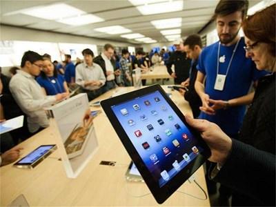 Новият iPad ще се появи официално в България от петък. СНИМКИ: РОЙТЕРС