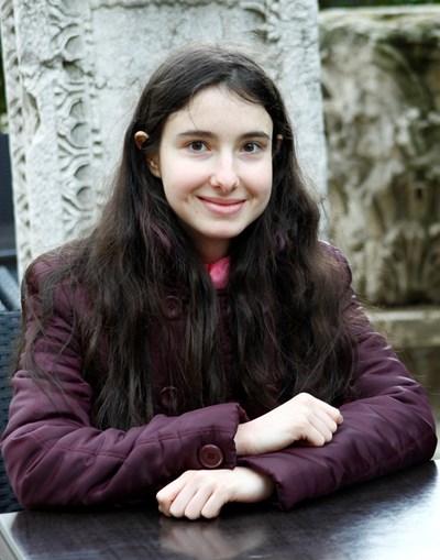 Виолета Найденова е много упорито и добродушно момиче. СНИМКА: Десислава Кулелиева