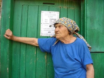 88-годишната баба Пенка Тенева е вдовица почти от 17 години и живее сама в село Дъбово. СНИМКА: Ваньо Стоилов
