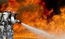 Неизвестен подпалил необитаема селскостопанска постройка в Лом