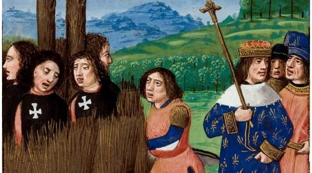 Последният богомил изгорен на клада през 1321 г.
