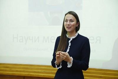 Ева Майдел  СНИМКИ: Пресцентър на ГЕРБ